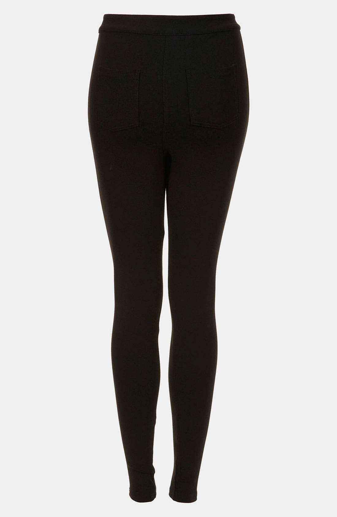 Alternate Image 2  - Topshop High Waist Ponte Skinny Pants