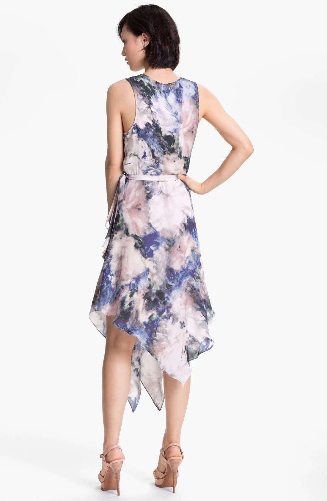Alternate Image 2  - Haute Hippie Floral Print Wrap Dress