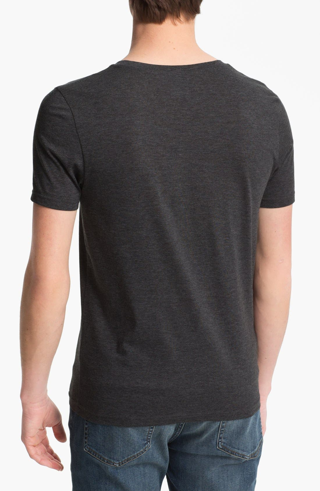 Alternate Image 2  - Topman Scoop Neck T-Shirt