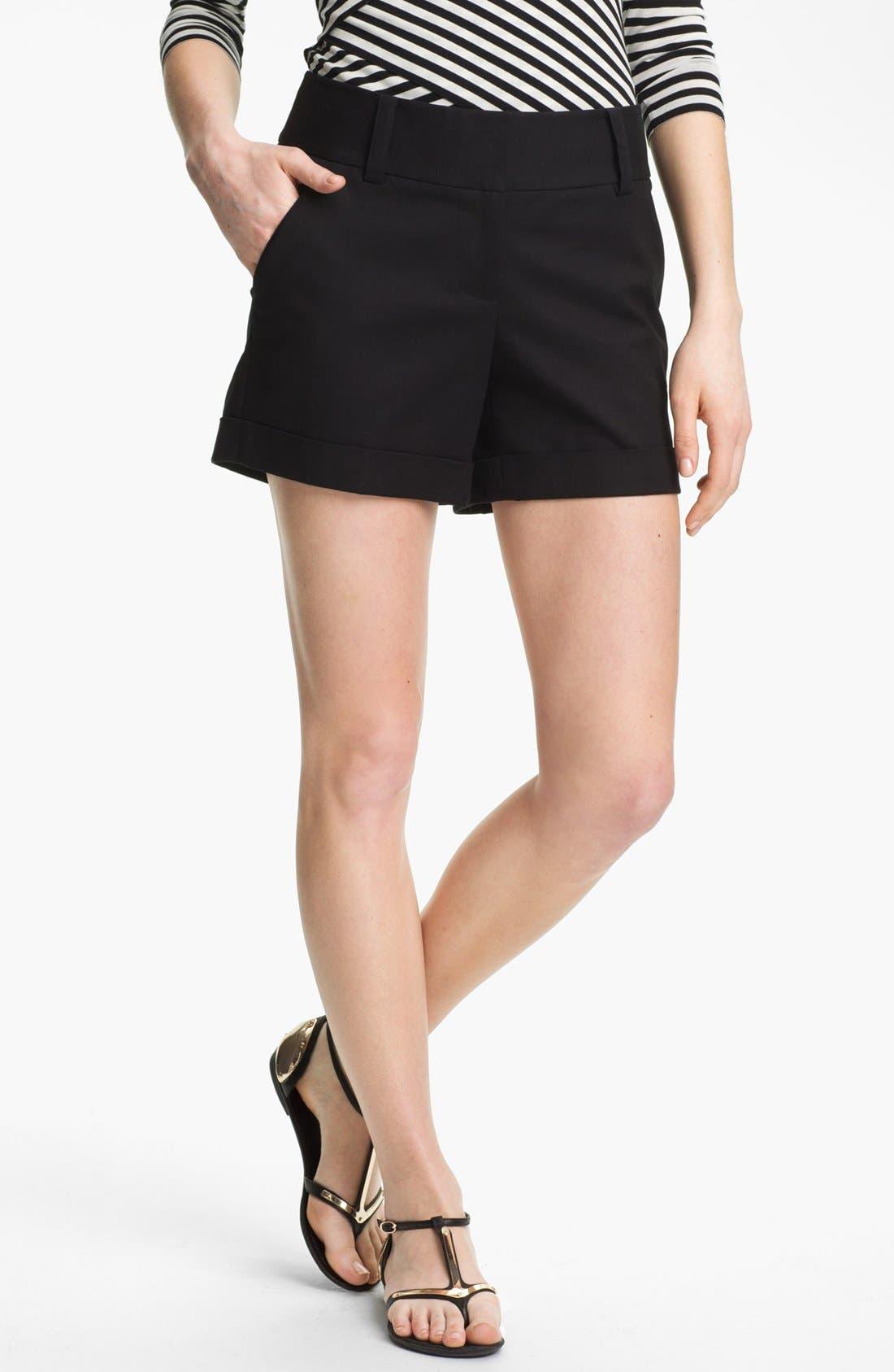 Alternate Image 1 Selected - Vince Camuto Cuff Shorts (Regular & Petite)