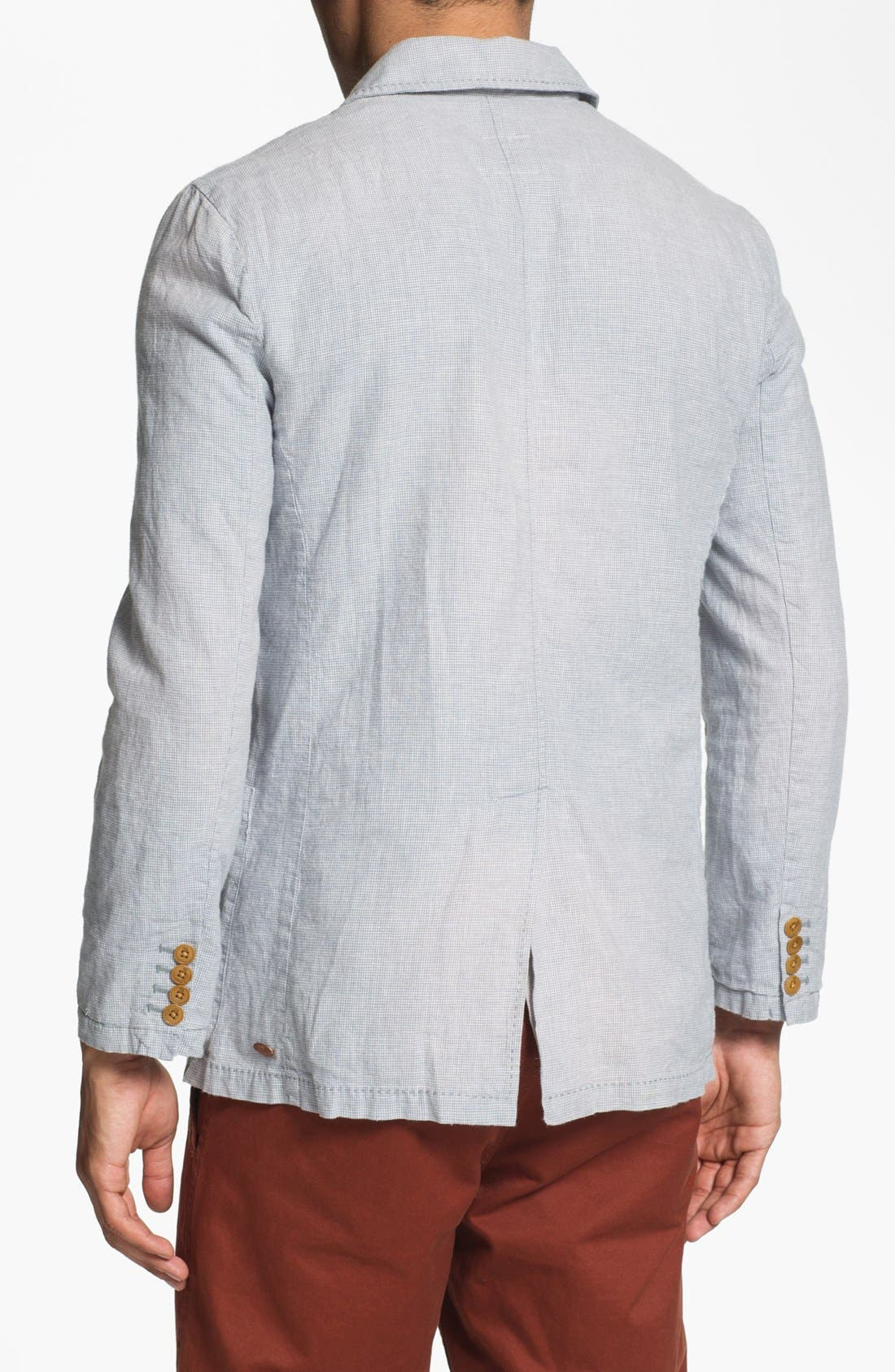 Alternate Image 2  - Scotch & Soda Cotton & Linen Blazer