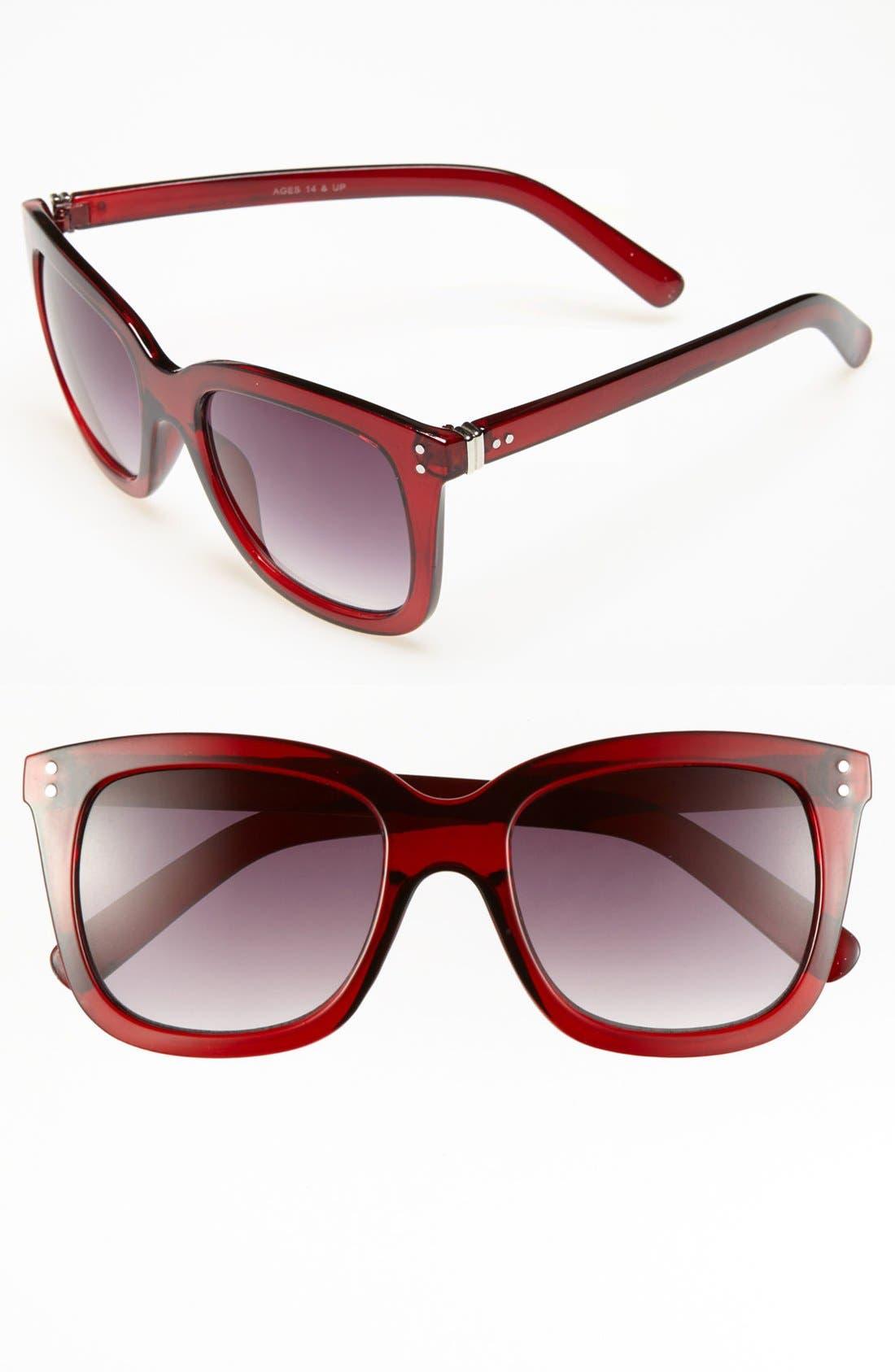 Alternate Image 1 Selected - FE NY 'Blue Blood' Sunglasses