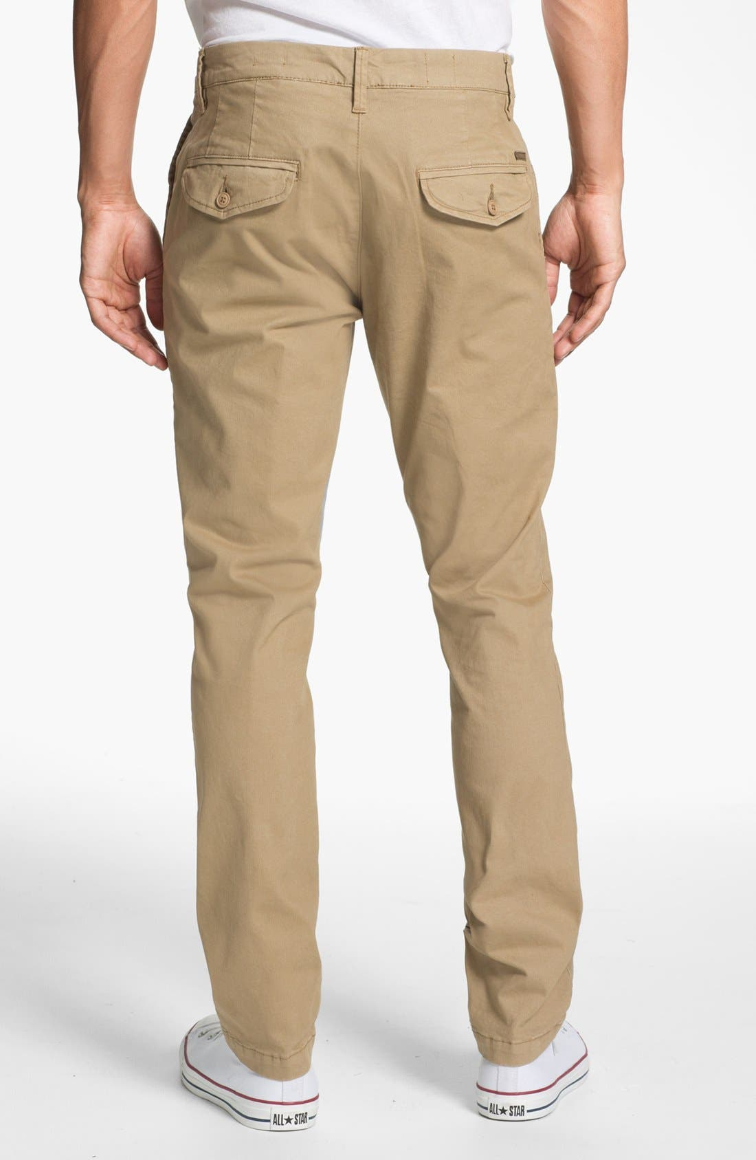 Alternate Image 2  - Volcom 'Darmody' Slim Fit Chinos