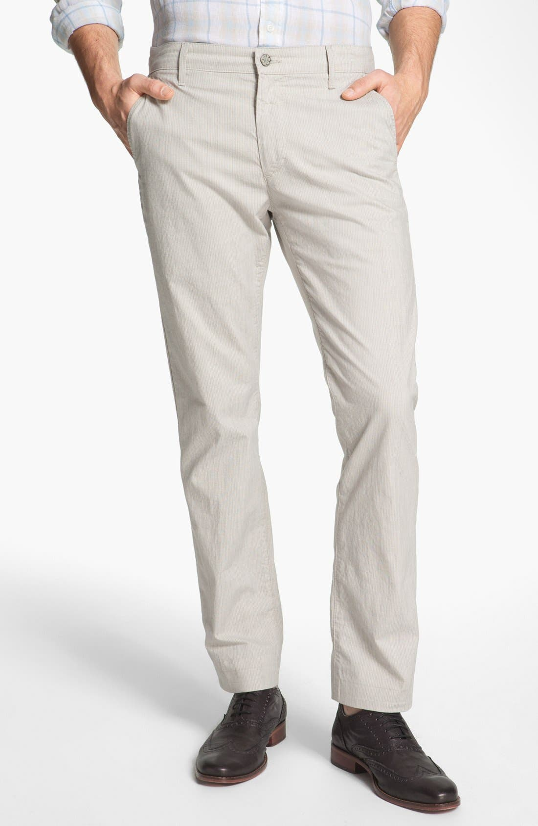 Alternate Image 1 Selected - AG Jeans Slim Fit Trousers
