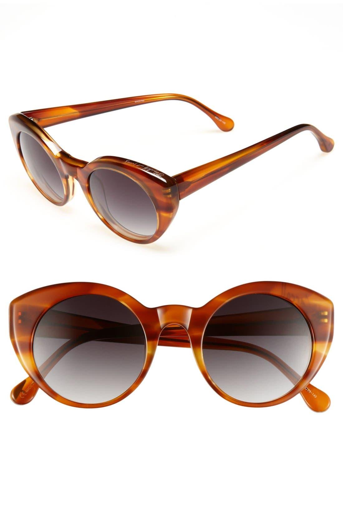 Alternate Image 1 Selected - Elizabeth and James 50mm Retro Sunglasses