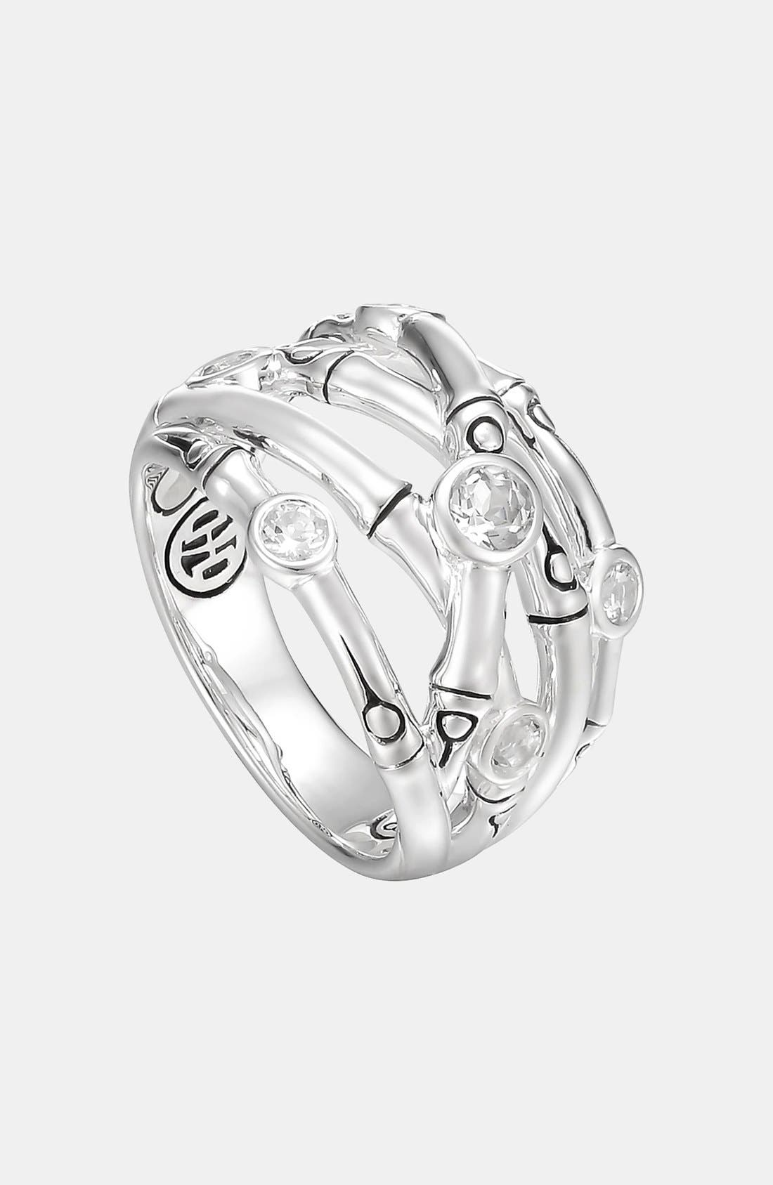 Main Image - John Hardy 'Batu Bamboo' Woven Silver Ring