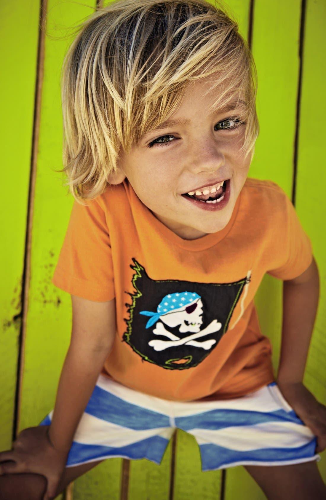 Alternate Image 2  - Mini Boden T-Shirt & Shorts (Toddler, Little Boys & Big Boys)