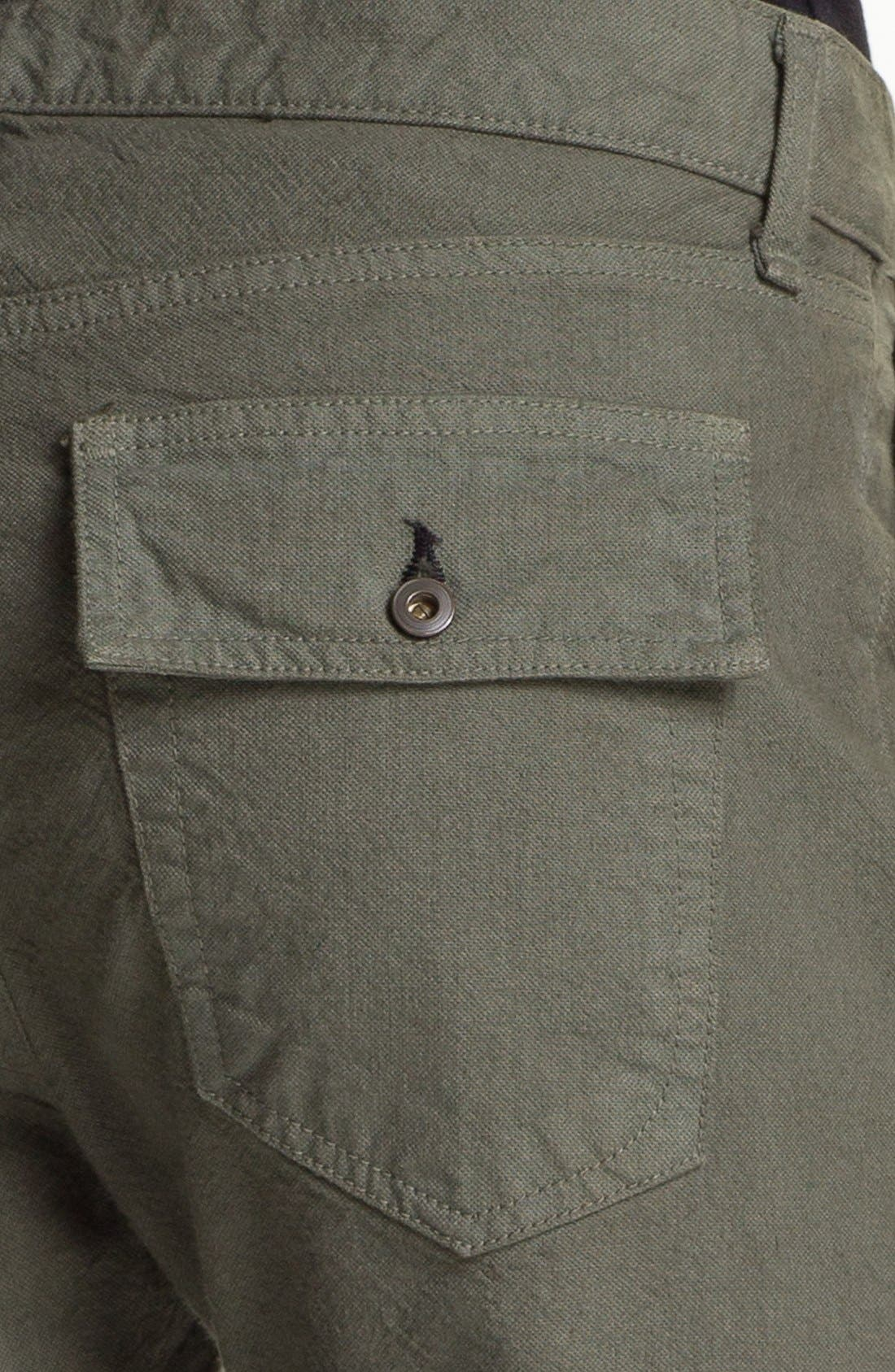 Alternate Image 6  - rag & bone/JEAN 'Brigade' Cargo Twill Pants