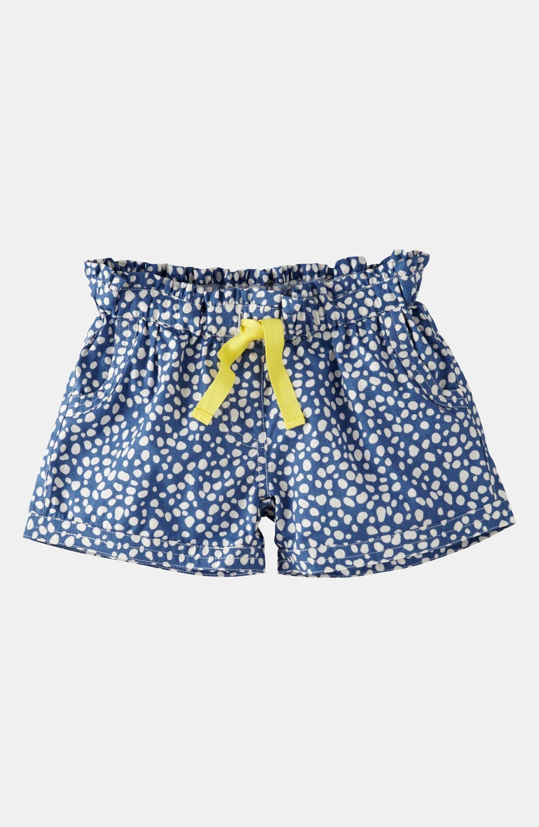Alternate Image 1 Selected - Mini Boden 'Spotty Holiday' Shorts (Toddler)