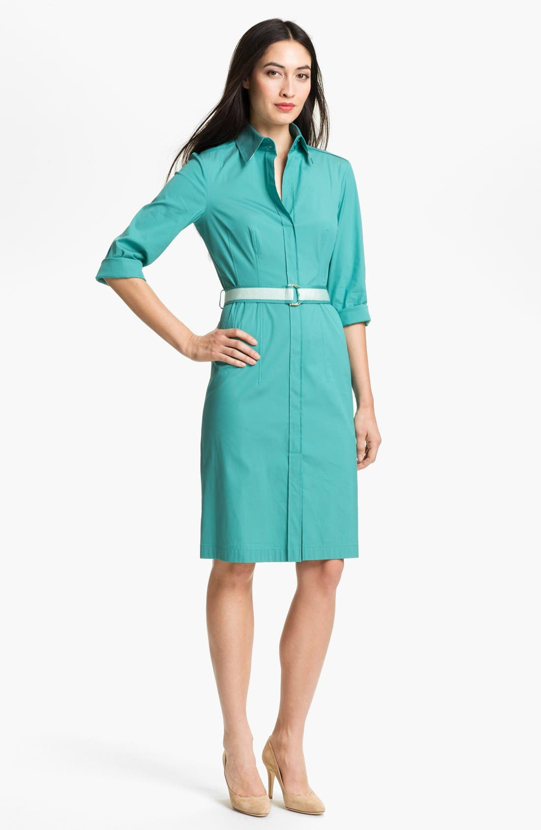 Alternate Image 1 Selected - BOSS HUGO BOSS 'Dashina' Shirtdress