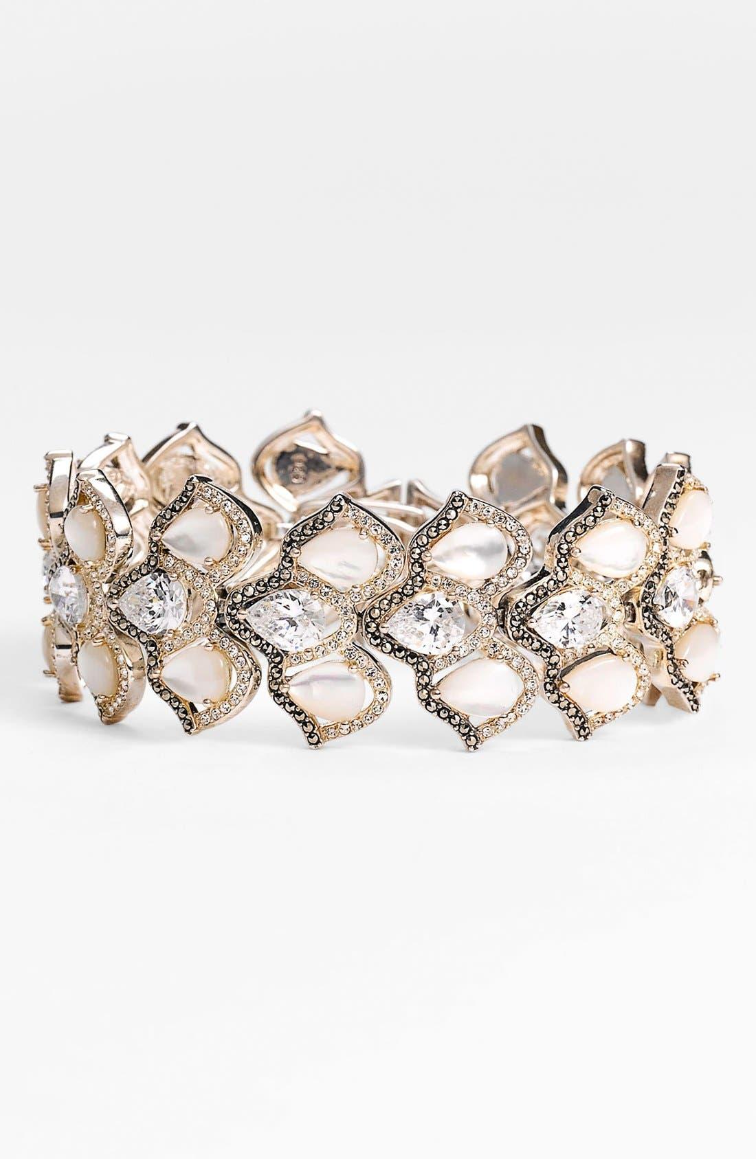 Main Image - Judith Jack 'Amore' Wide Line Bracelet