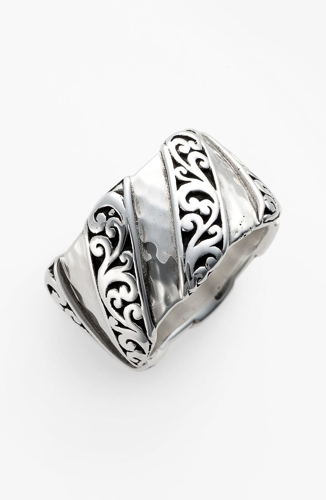 Main Image - Lois Hill 'Classy Cutout Waves' Cigar Band Ring