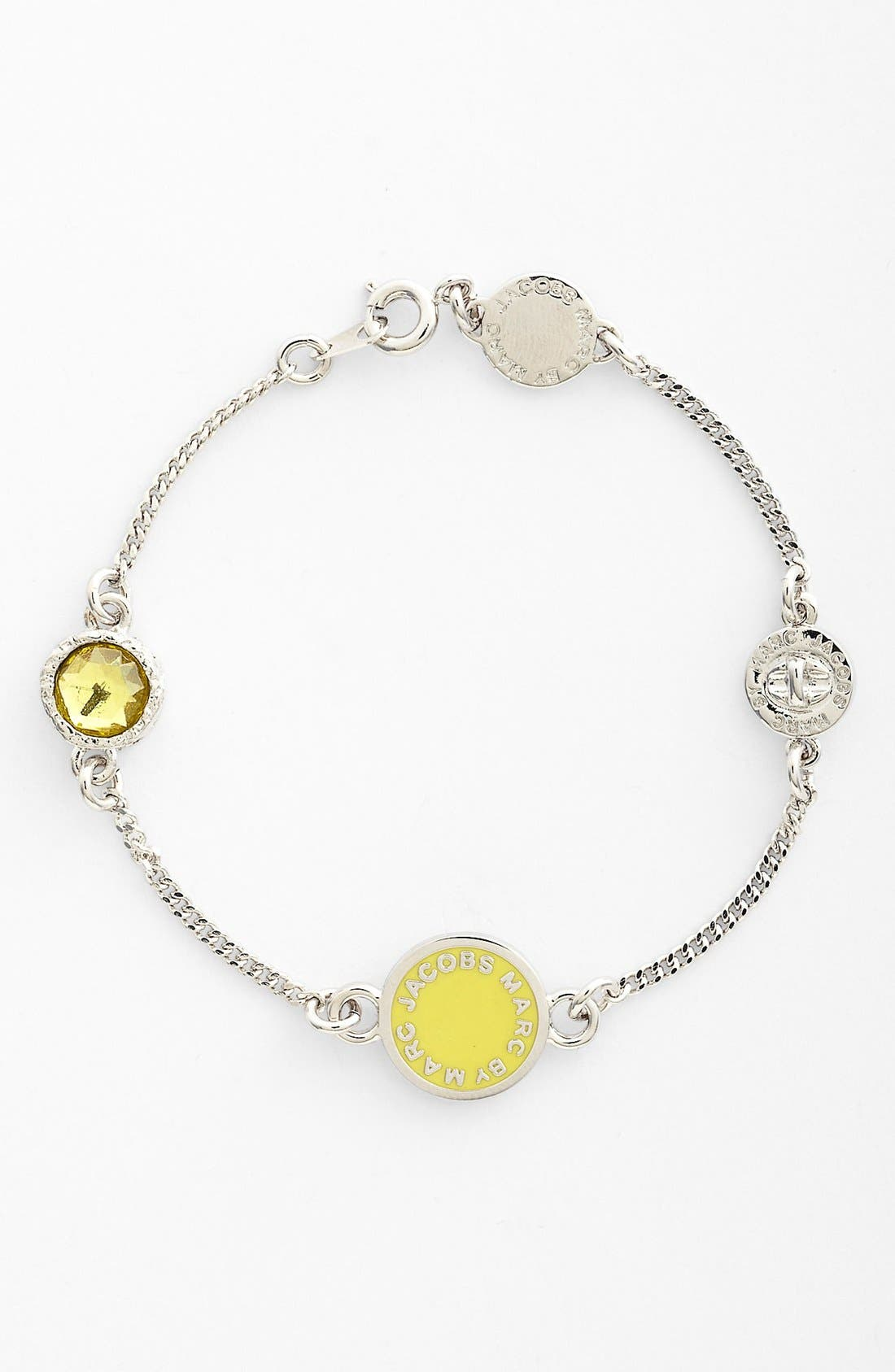 Alternate Image 1 Selected - MARC BY MARC JACOBS 'Classic Marc' Line Bracelet