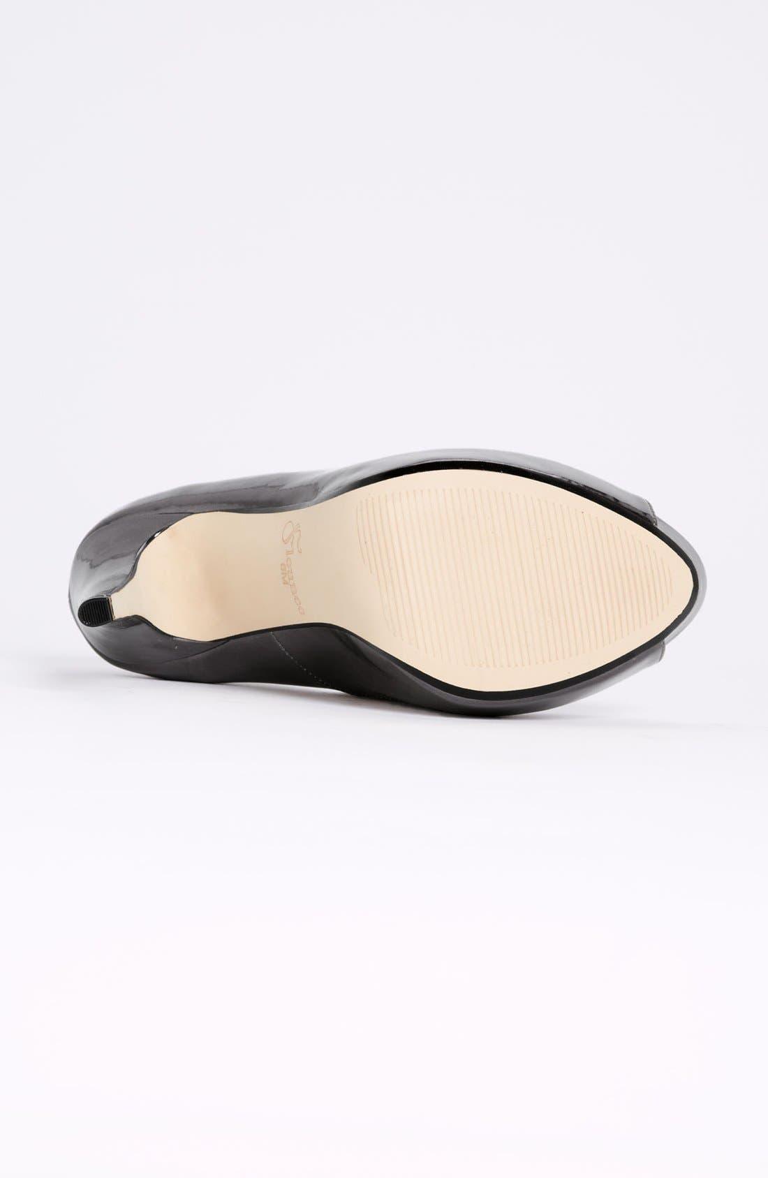 Alternate Image 4  - Flounce 'Ivie' Peep Toe Platform Pump