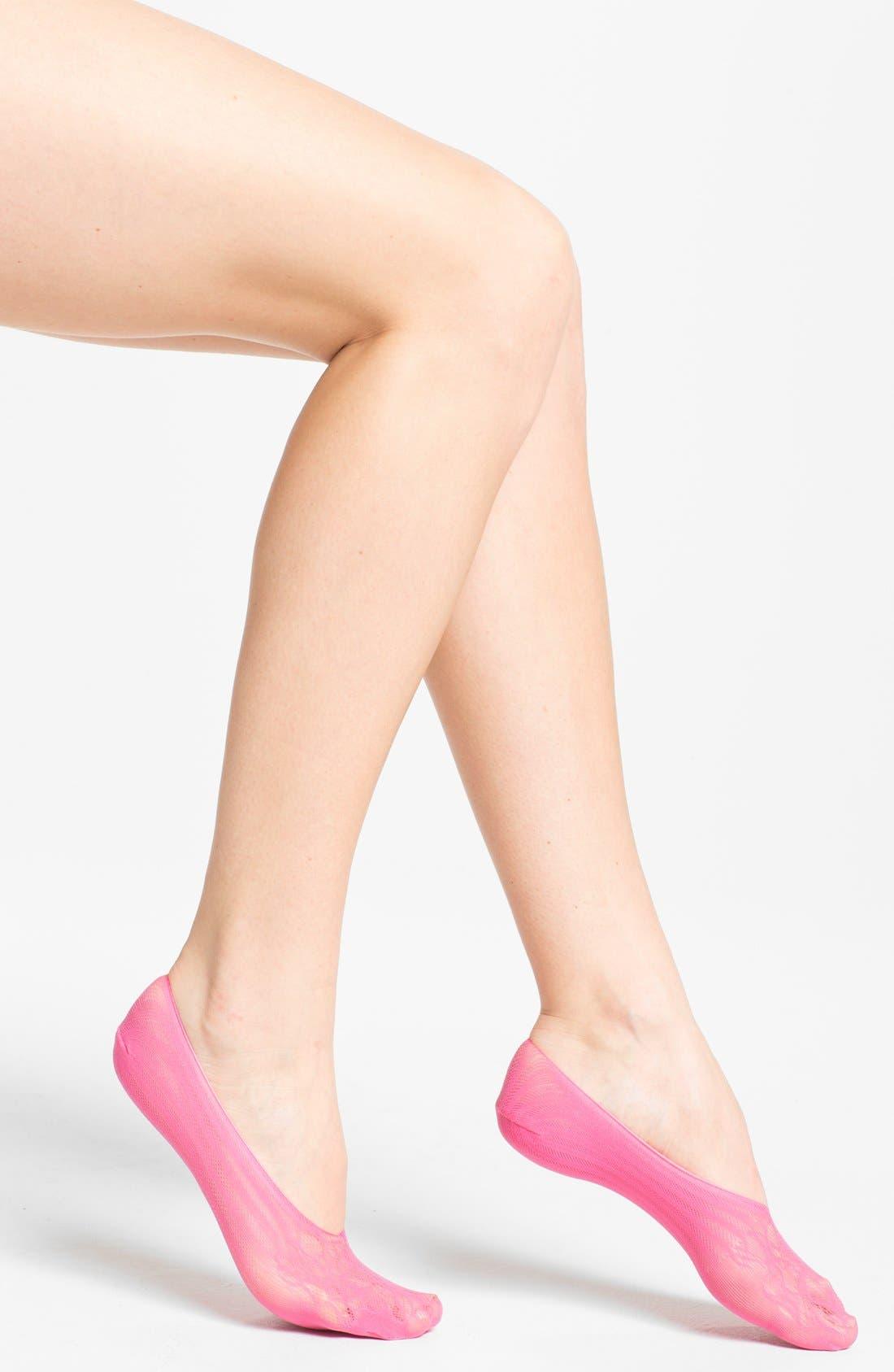 Main Image - Nordstrom 'Rosie Toes' Footies
