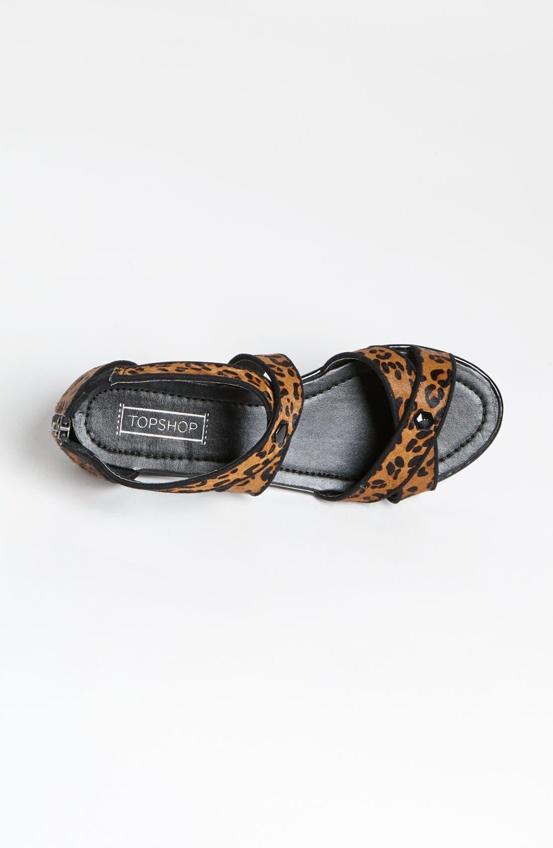 Alternate Image 3  - Topshop 'Figaro' Cross Strap Sandal