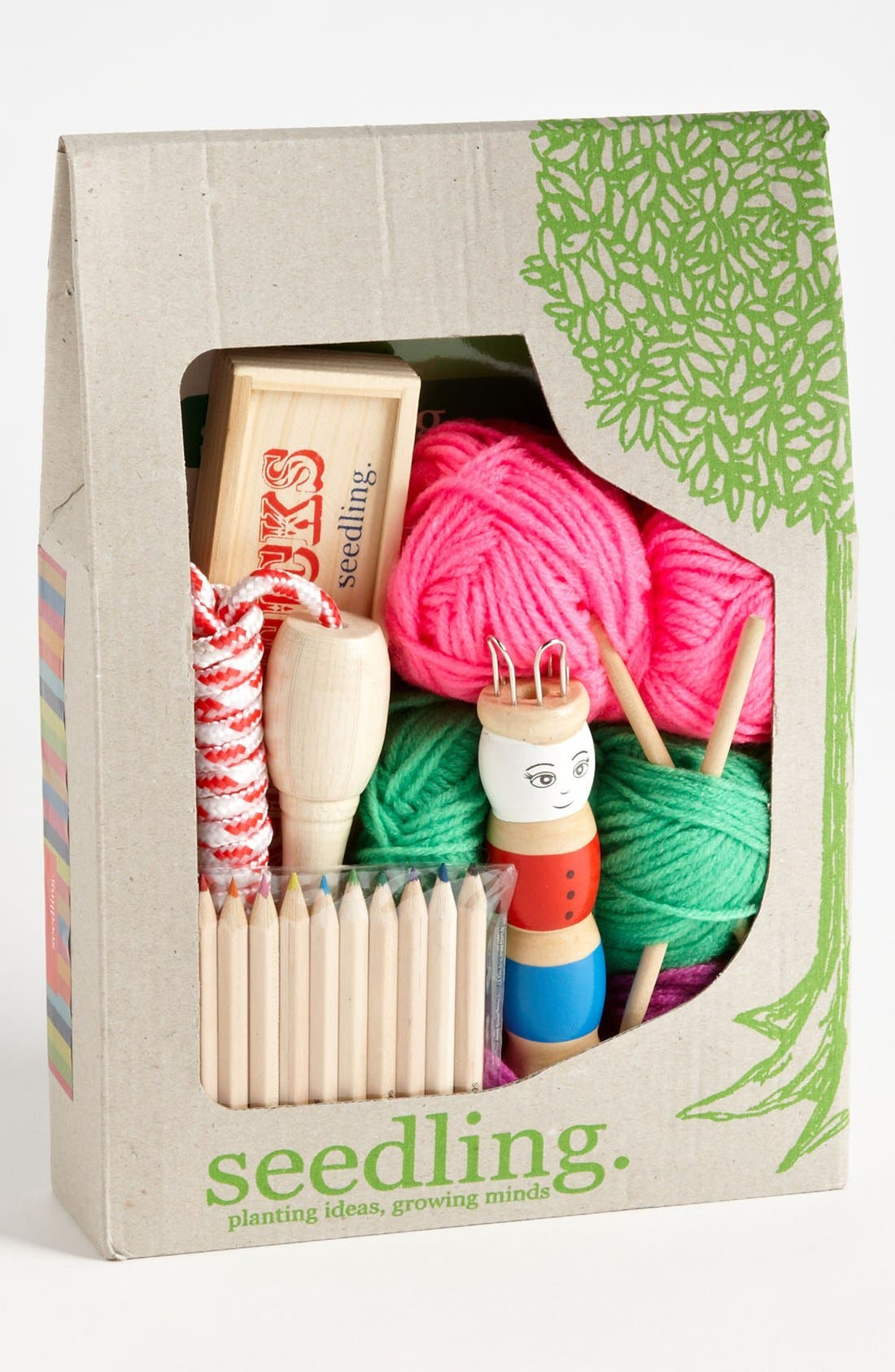 Alternate Image 1 Selected - Seedling 'Good Things for Girls' Craft & Toy Kit