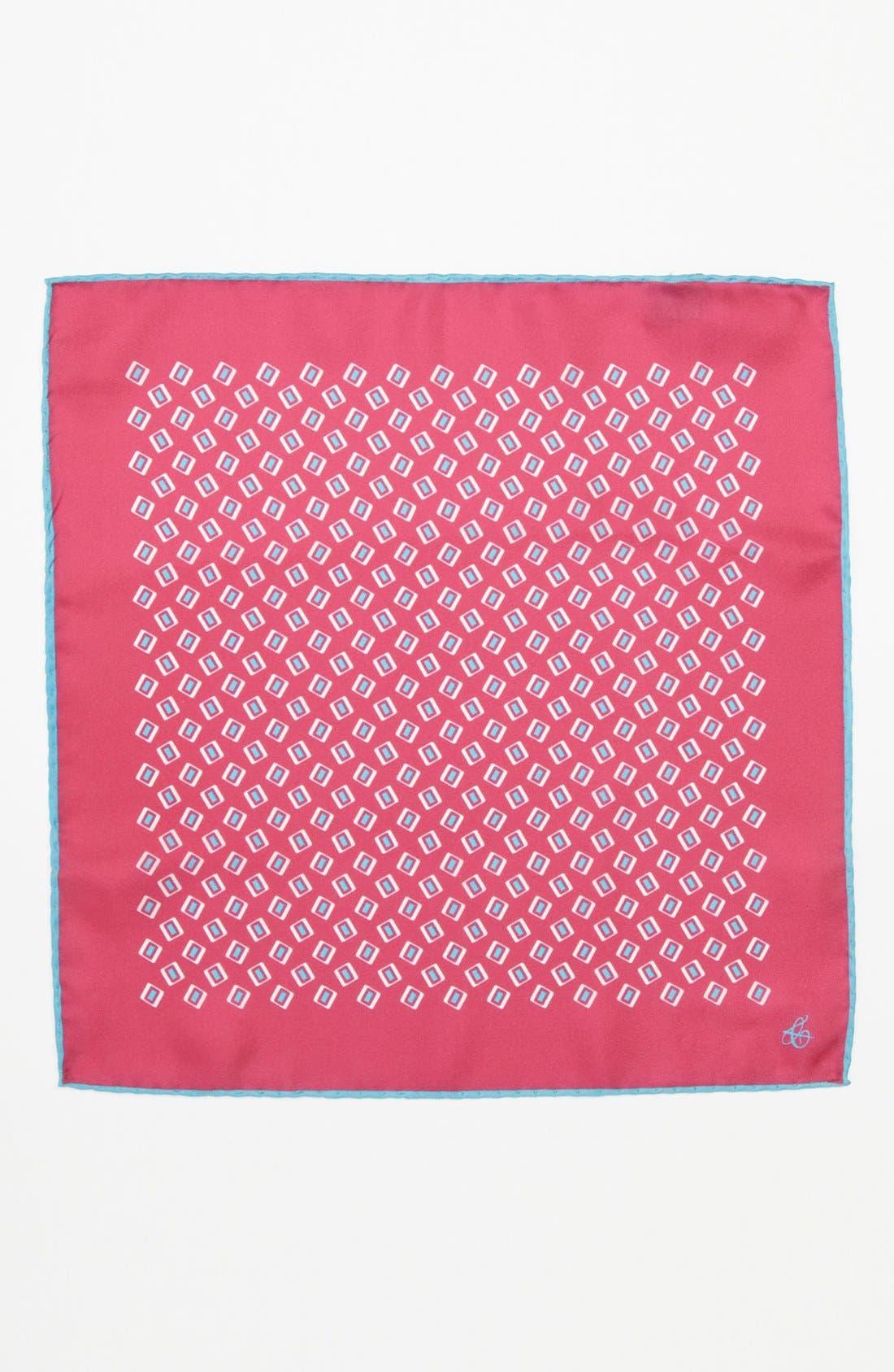 Alternate Image 2  - Canali Silk Pocket Square