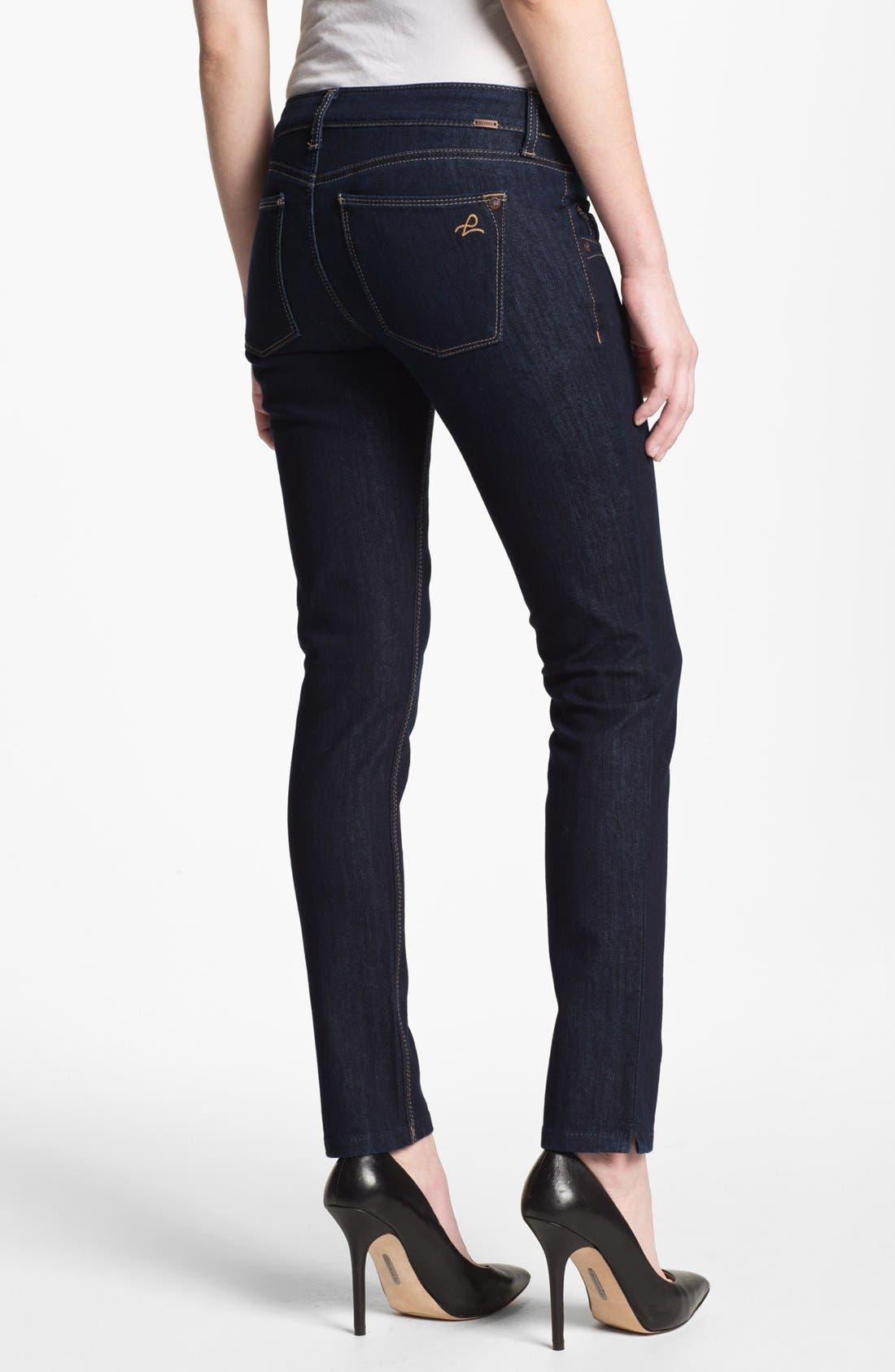 Alternate Image 2  - DL1961 'Angel' Maternity Ankle Skinny Jeans (Marnier)