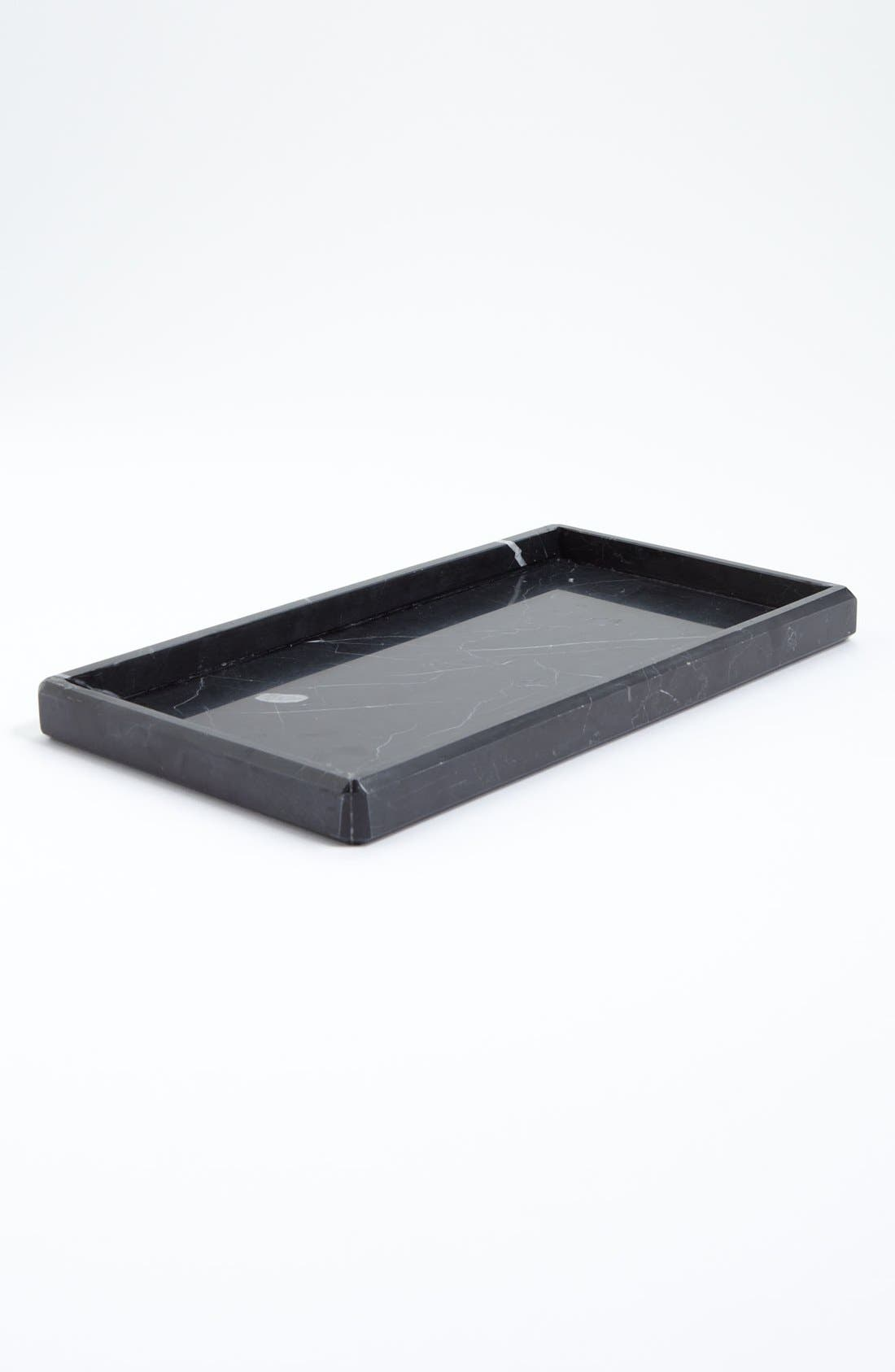 Alternate Image 1 Selected - Waterworks Studio 'Luna' Black Marble Tray (Online Only)