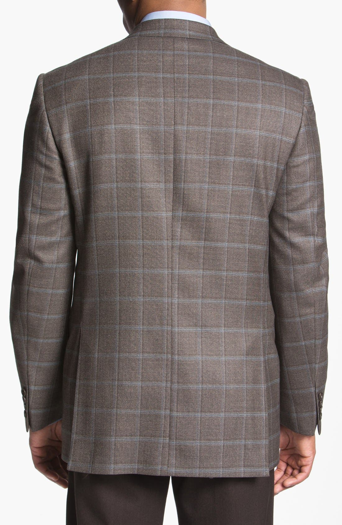 Alternate Image 2  - Joseph Abboud 'Signature Silver' Plaid Wool Sportcoat (Online Only)