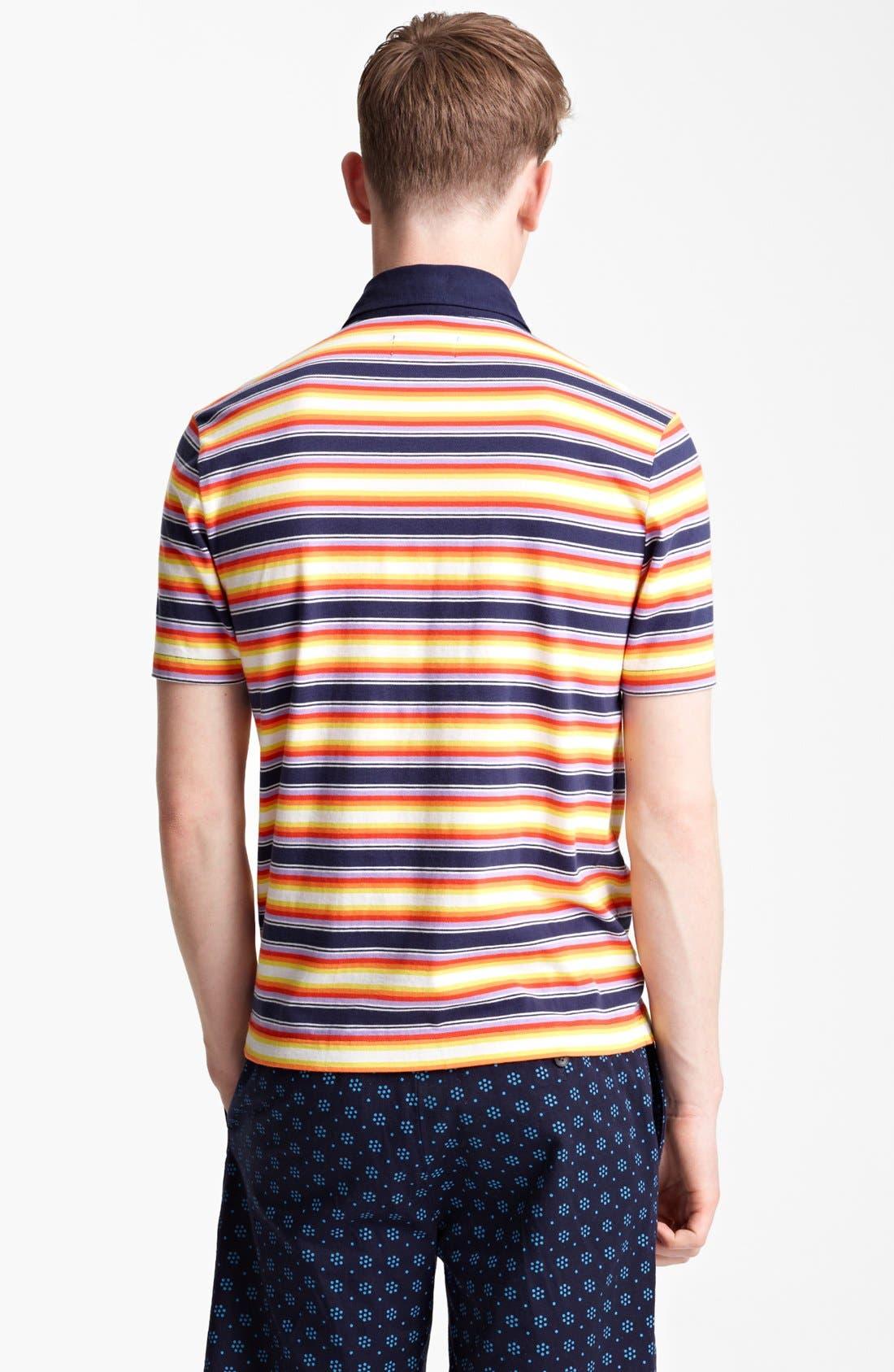 Alternate Image 2  - Jack Spade 'Warren' Stripe Jersey Polo