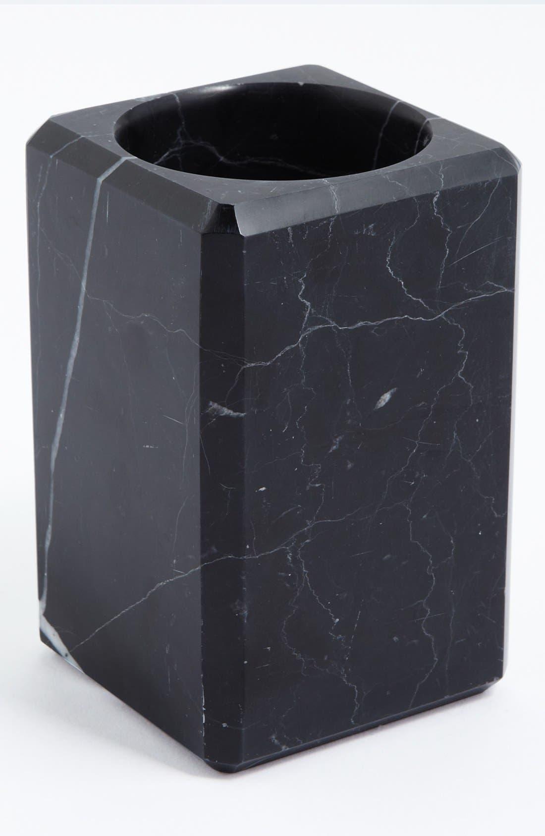 Alternate Image 1 Selected - Waterworks Studio 'Luna' Black Marble Tumbler (Online Only)