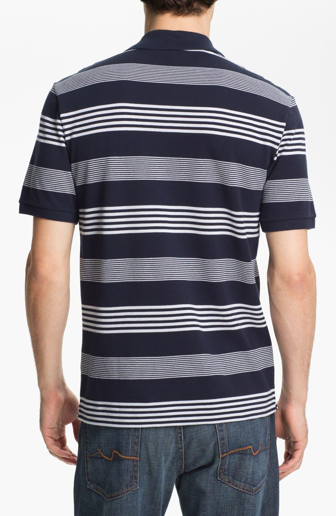 Alternate Image 2  - Lacoste Stripe Piqué Polo