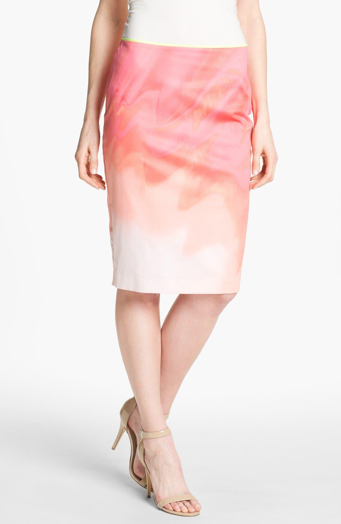 Main Image - Elie Tahari 'Penelope - Sand Dunes' Skirt