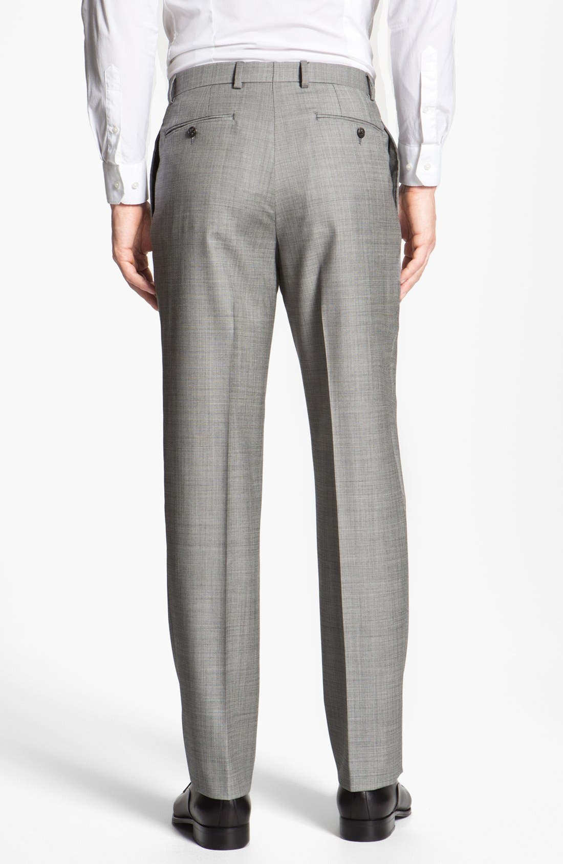 Alternate Image 5  - Joseph Abboud 'Profile' Trim Fit Wool Suit (Online Only)
