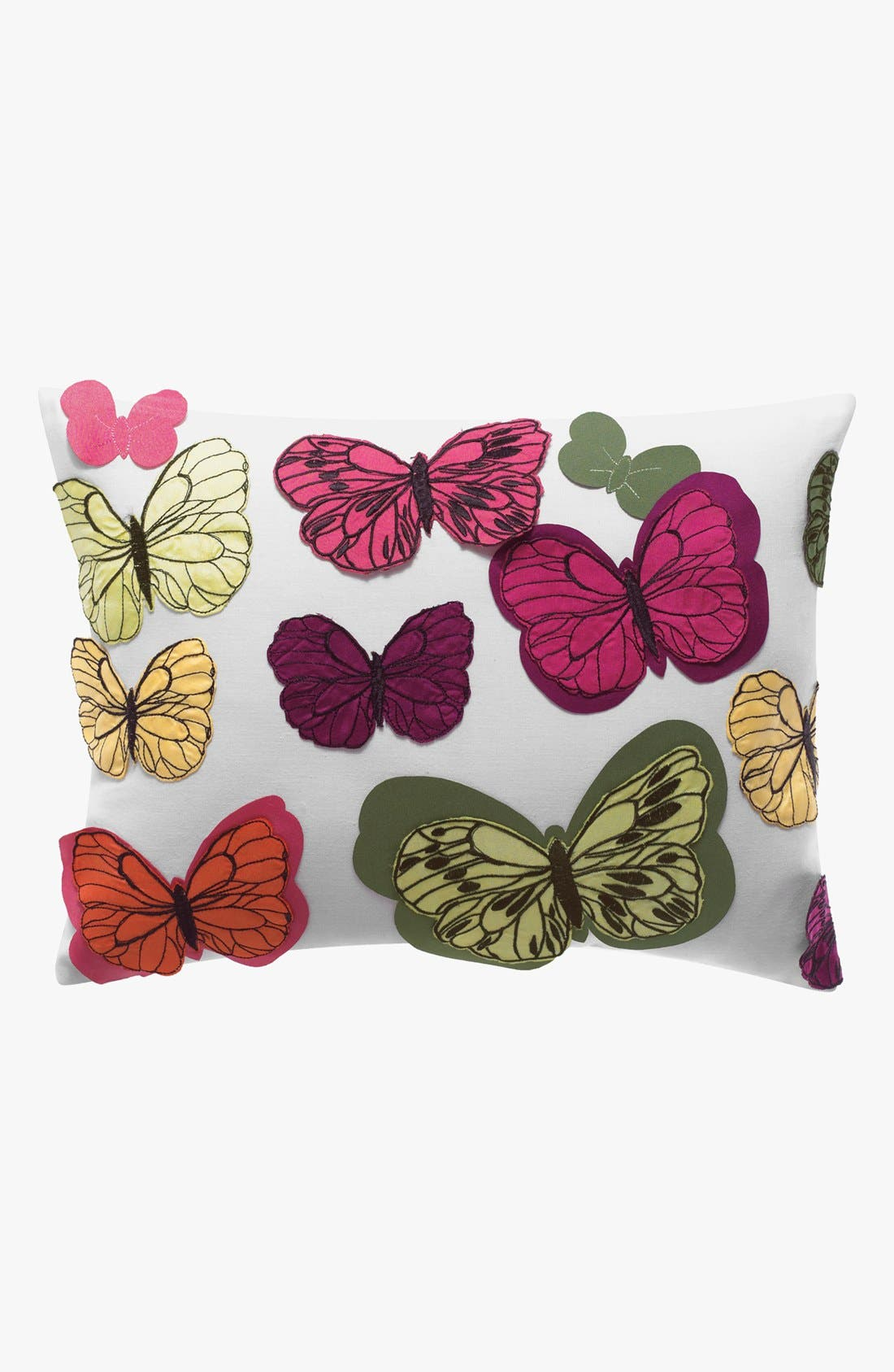 Alternate Image 1 Selected - KAS Designs Chintz Butterfly Pillow (Online Only)