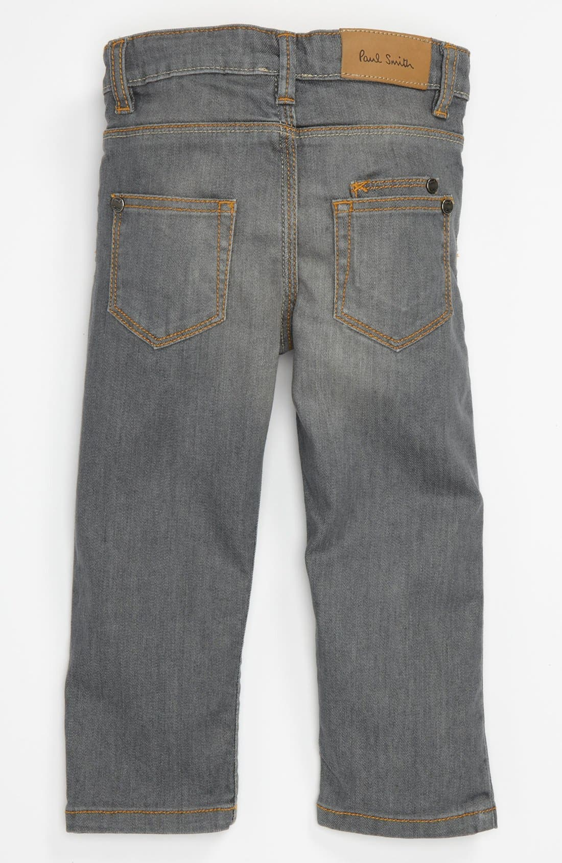 Alternate Image 1 Selected - Paul Smith Junior Straight Leg Jeans (Baby)