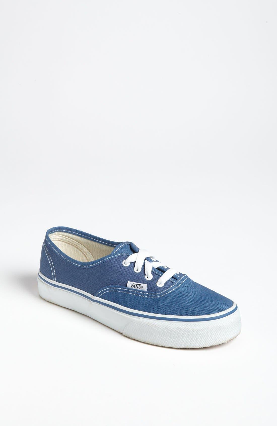 Alternate Image 1 Selected - Vans 'Authentic' Sneaker (Little Kid & Big Kid)