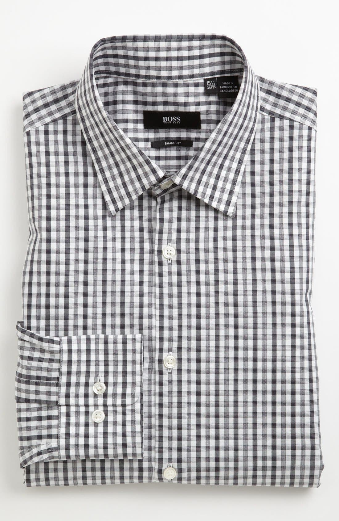 Main Image - BOSS HUGO BOSS Sharp Fit Dress Shirt