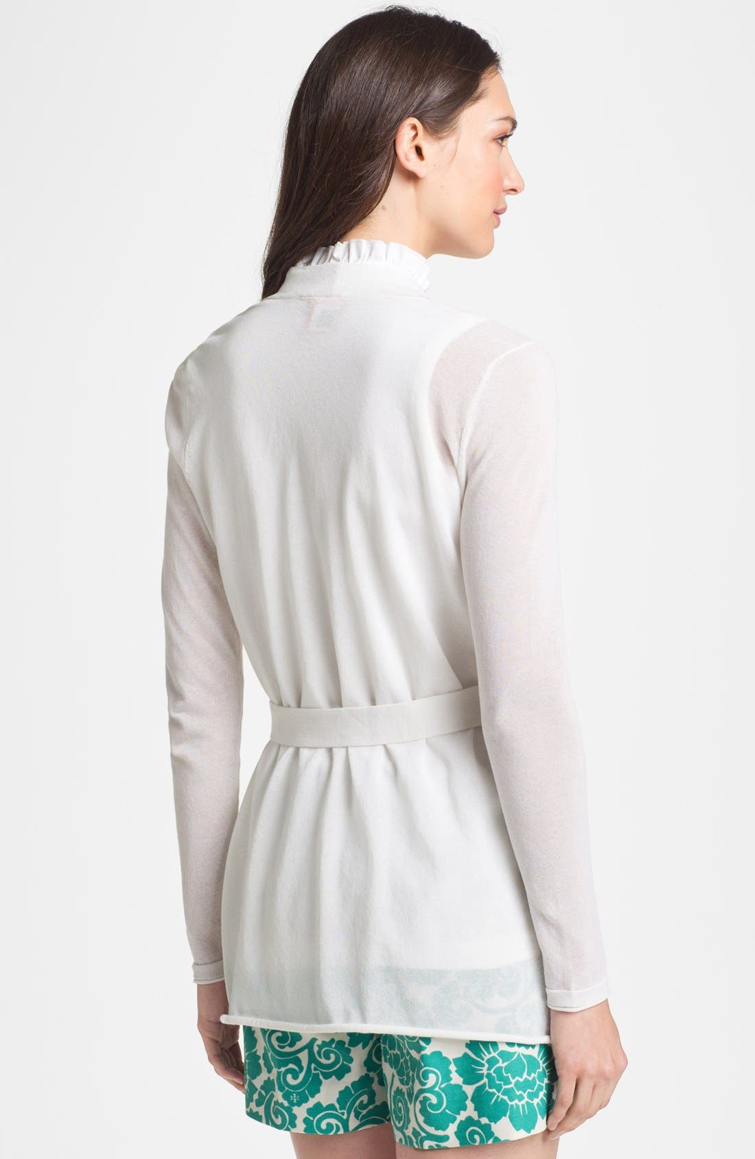 Alternate Image 2  - Tory Burch 'Niles' Belted Cardigan