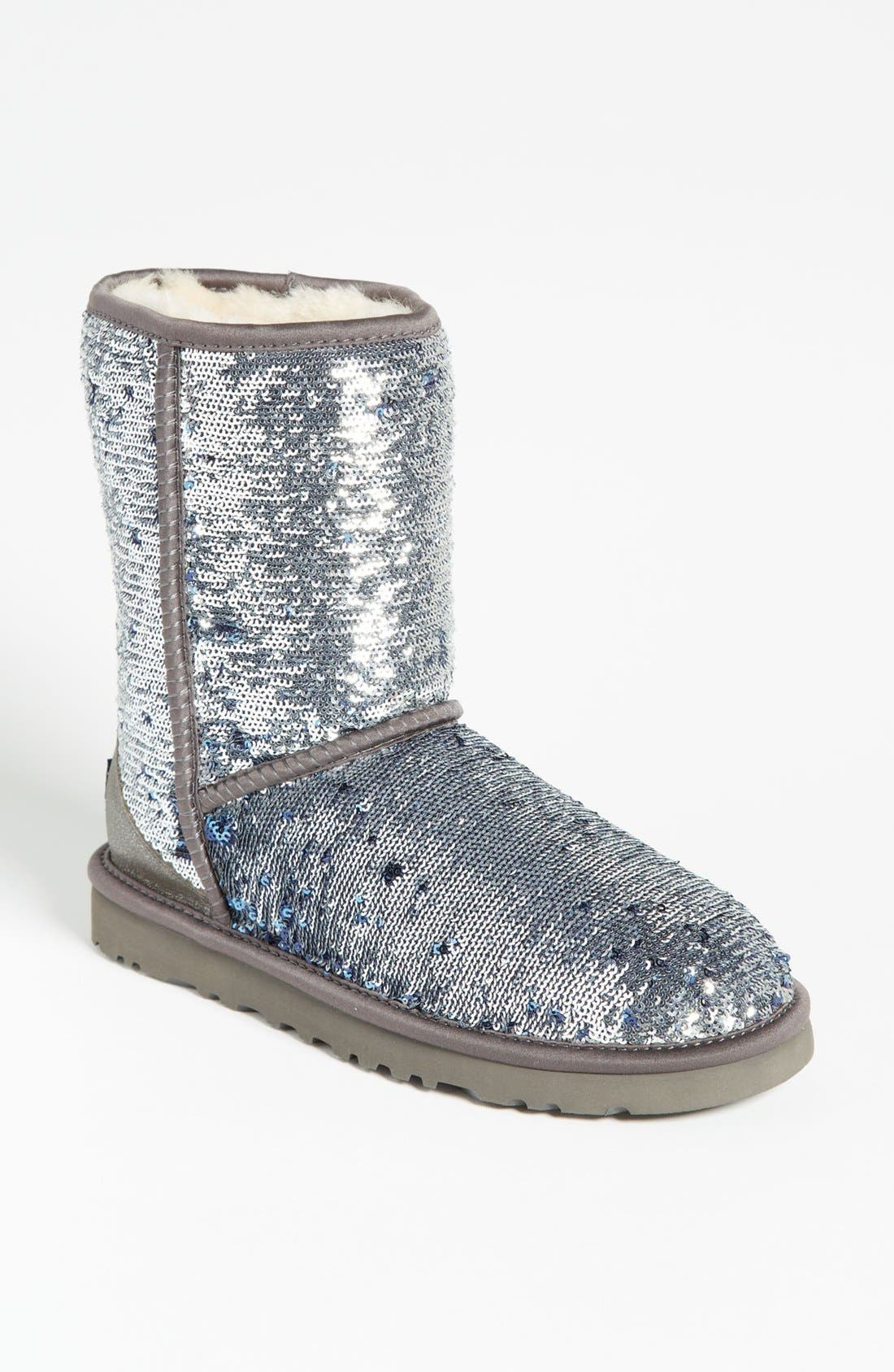 Alternate Image 1 Selected - UGG® Australia 'Classic Short Sparkle' Boot (Women)