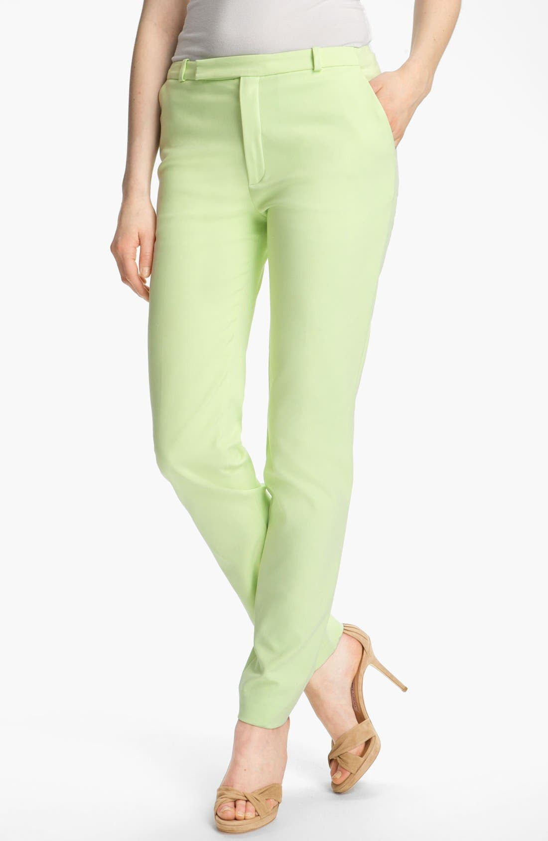 Alternate Image 1 Selected - KENZO Slim Stretch Canvas Pants