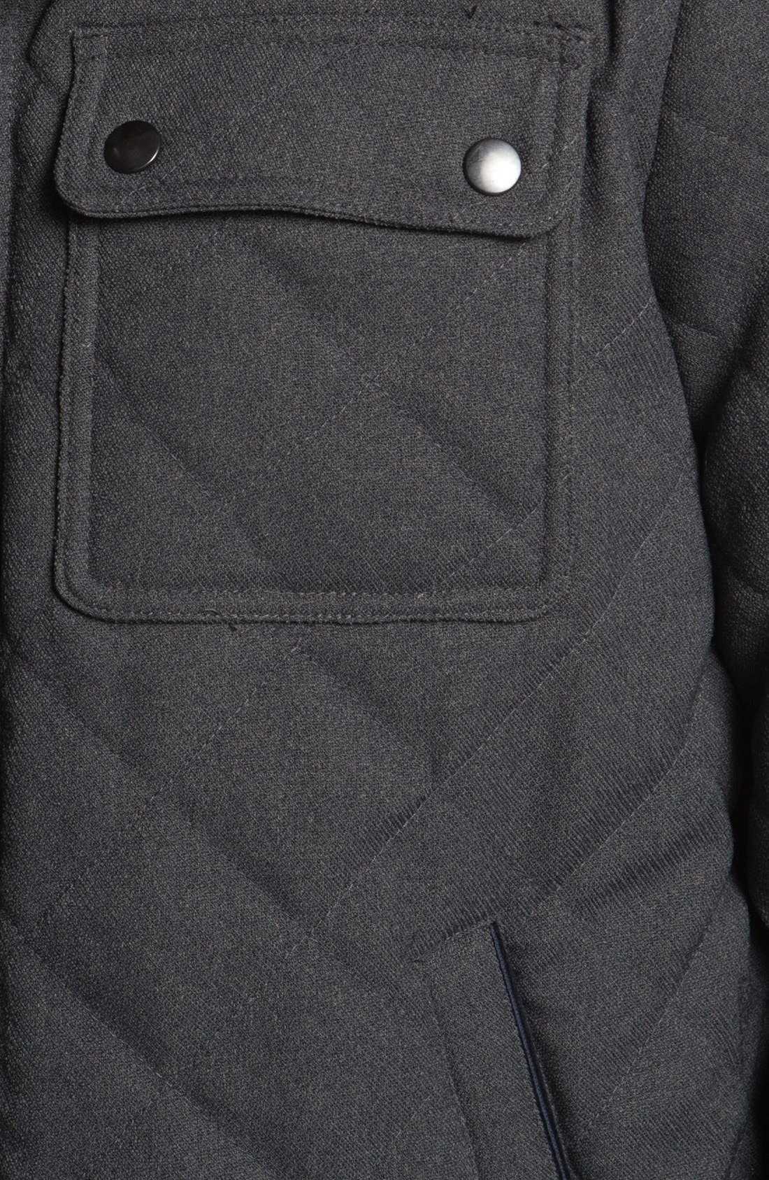 Alternate Image 3  - Kenneth Cole New York Quilted Jacket (Online Only)