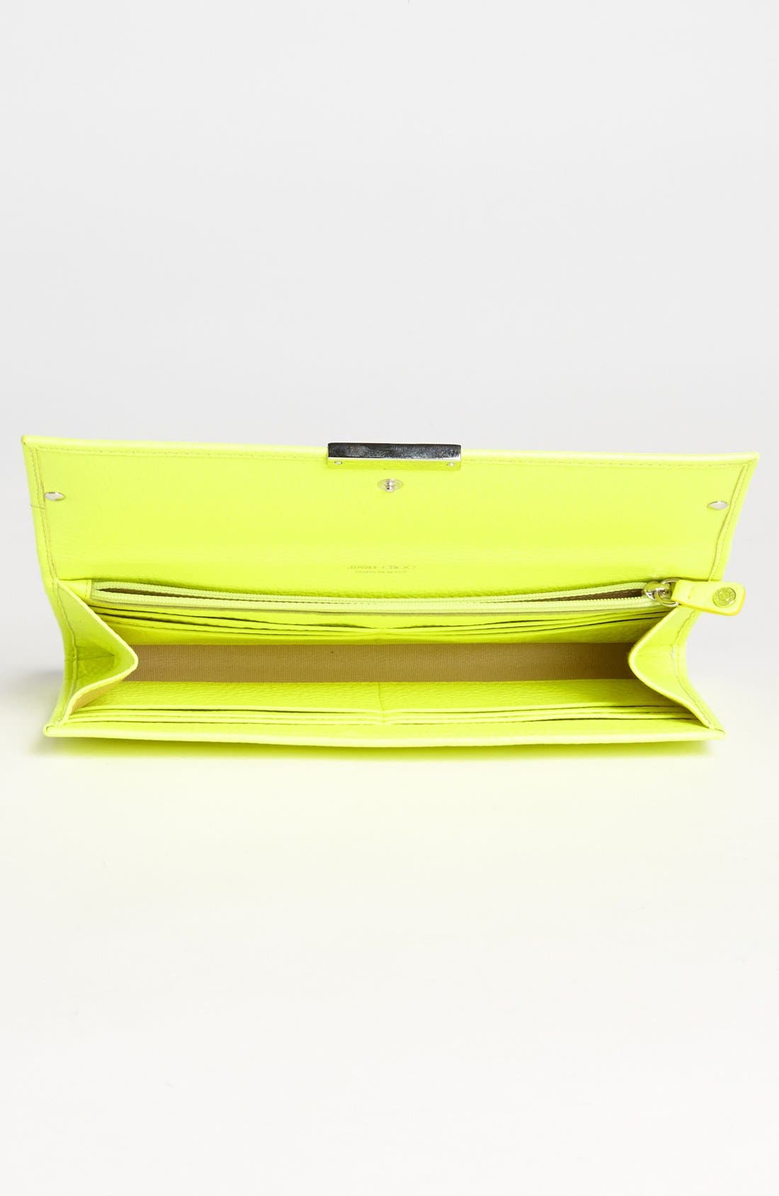 Alternate Image 3  - Jimmy Choo 'Reese' Leather Clutch