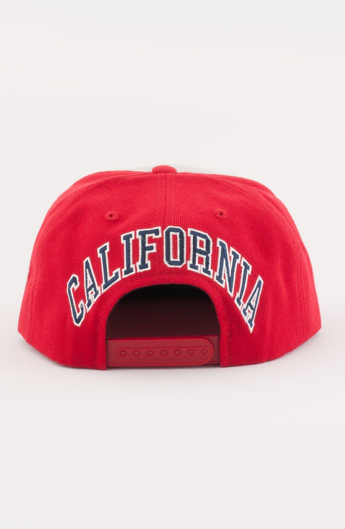 Alternate Image 2  - American Needle 'Anaheim Angels - Jimbo' Snapback Baseball Cap