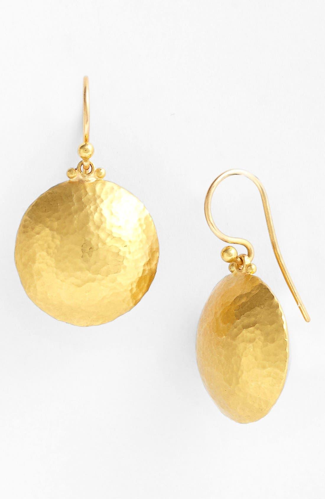 Alternate Image 1 Selected - Gurhan 'Lentil' Button Drop Earrings