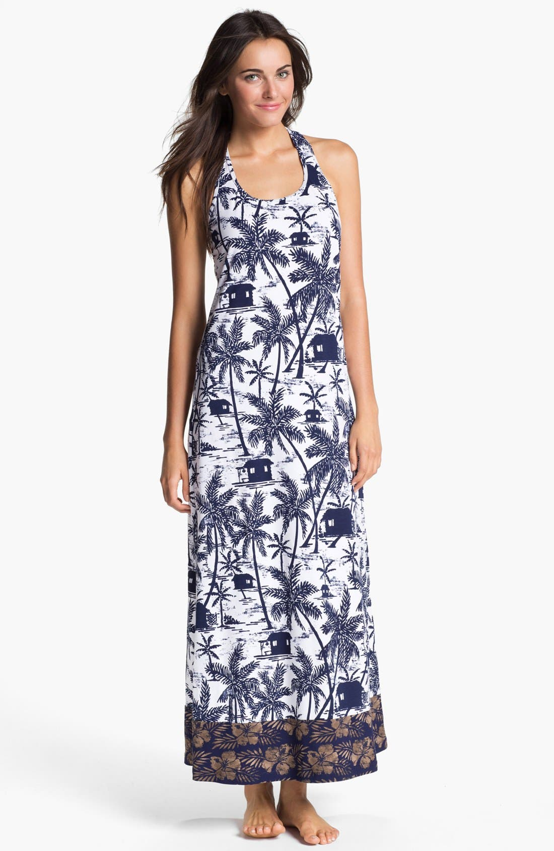 Alternate Image 1 Selected - Tommy Bahama Long Cover-Up Dress