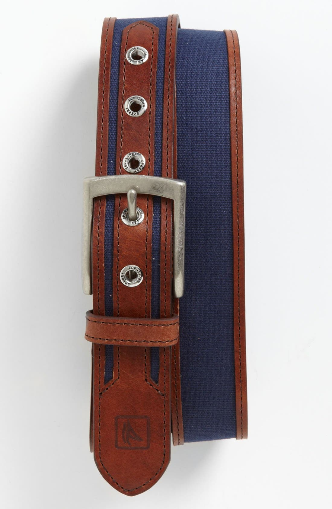 Alternate Image 1 Selected - Sperry Top-Sider® 'Cut Edge' Belt