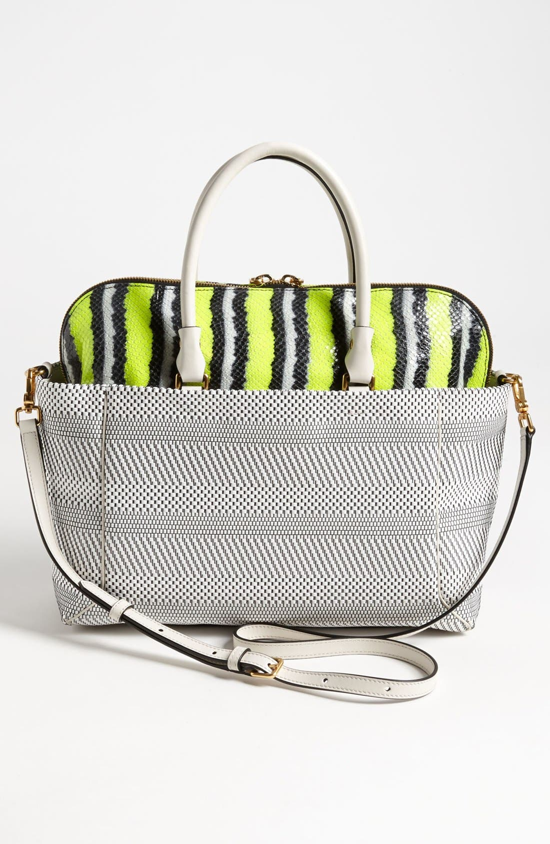 Alternate Image 4  - MARC BY MARC JACOBS 'Double Trouble Anemone - Whitney' Leather Tote