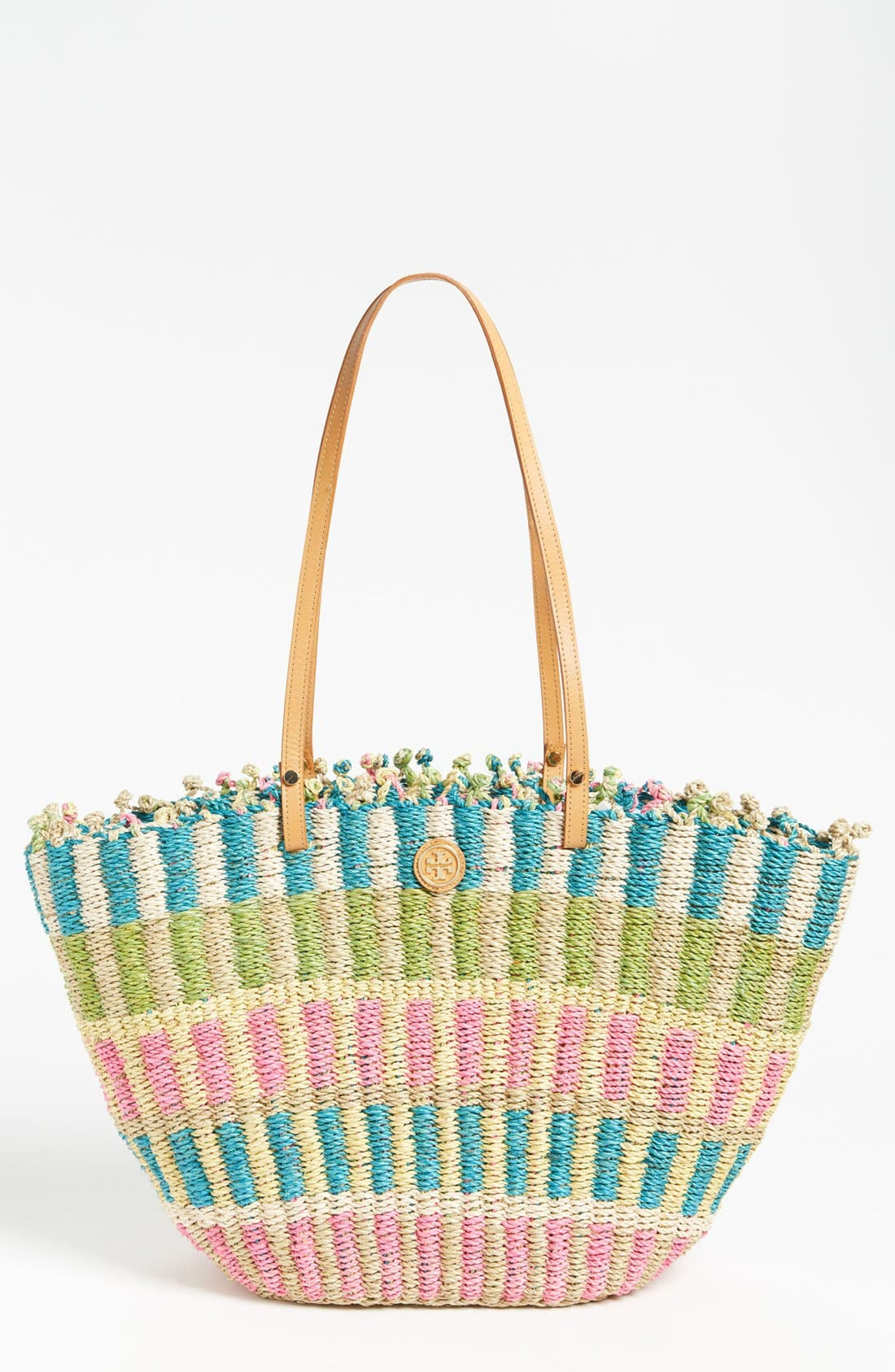 Main Image - Tory Burch Straw Tote, Extra Large