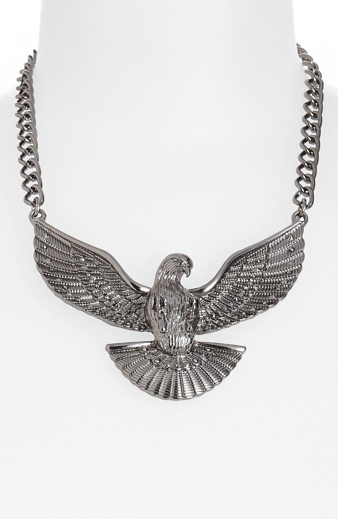Alternate Image 1 Selected - Statements by DCK Eagle Statement Necklace