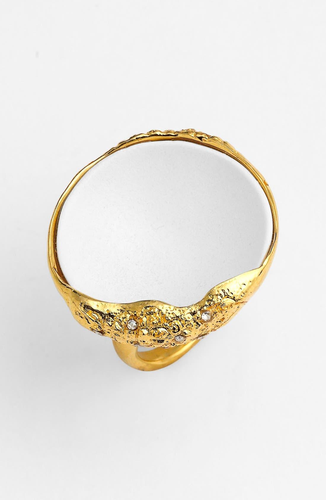 Alternate Image 2  - Alexis Bittar 'Miss Havisham - Liquid Gold' Concave Ring
