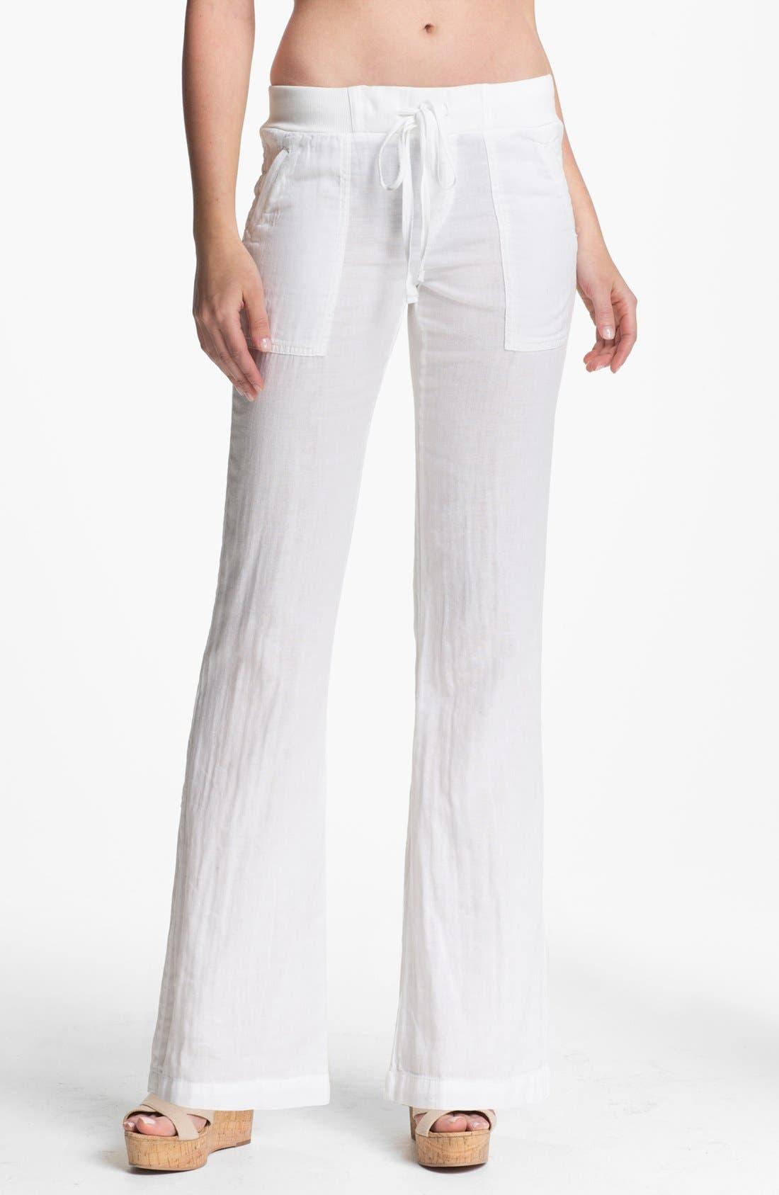 Alternate Image 1 Selected - Splendid 'Hermosa' Drawstring Pants