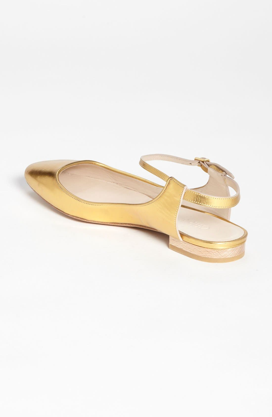 Alternate Image 2  - Chloé Ankle Strap Flat