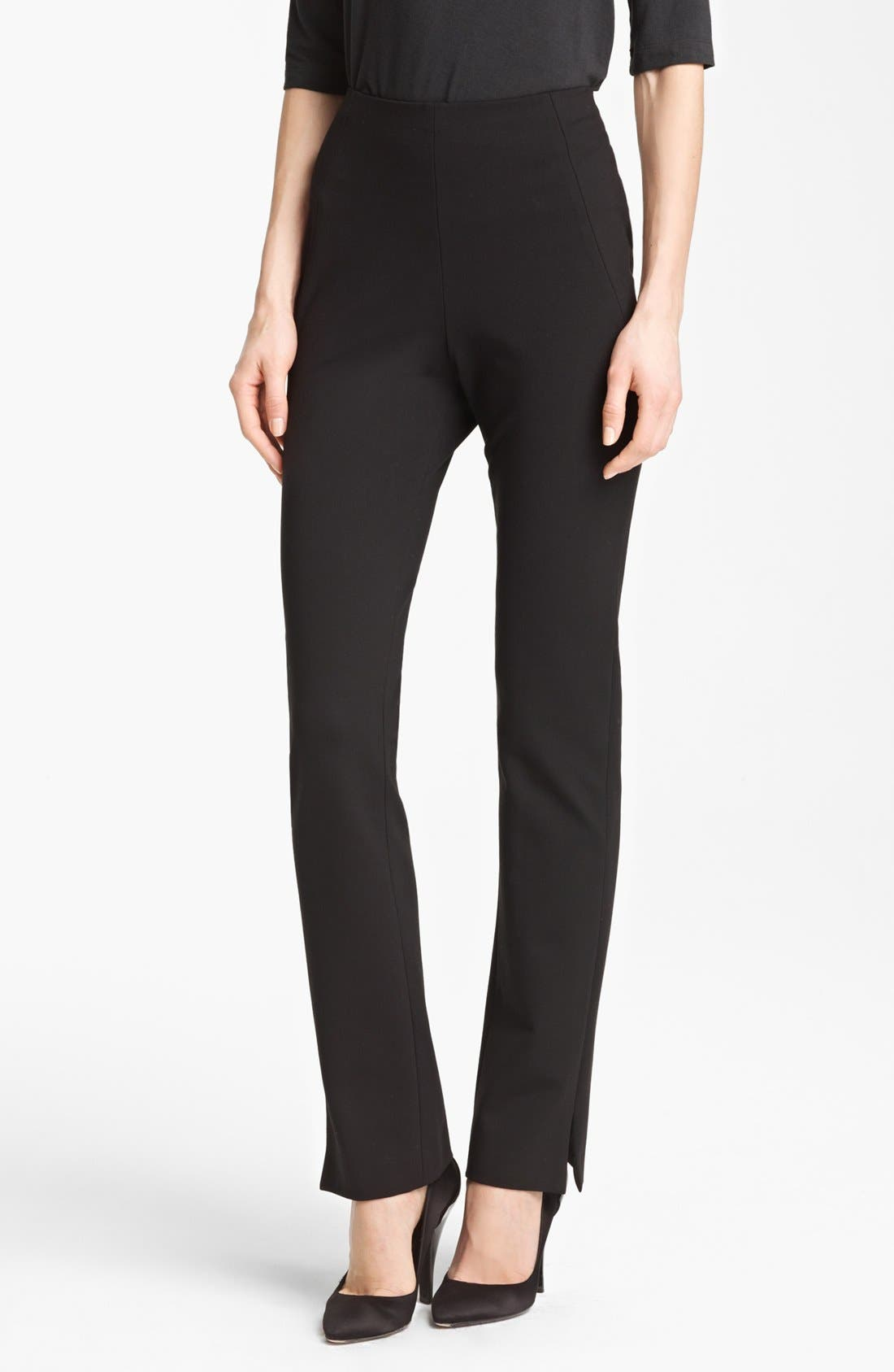 Main Image - Donna Karan New York Slim Jersey Pants